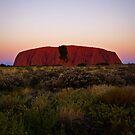 Uluru Sunset 1 by Adam Northam