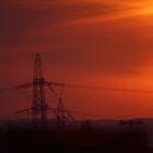 Pylon Sunset by youmeus