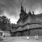 Borgund Stavkyrkje by Algot Kristoffer Peterson