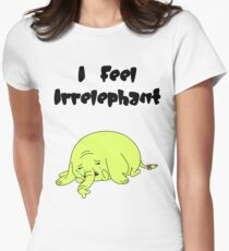 Irrelephant Womens Fitted T-Shirt