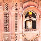 red city jaipur india by Heather Buckley