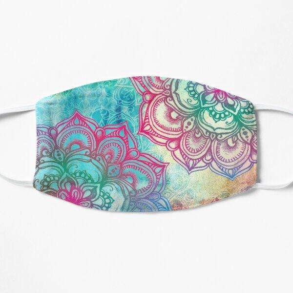 Round and Round the Rainbow Flat Mask