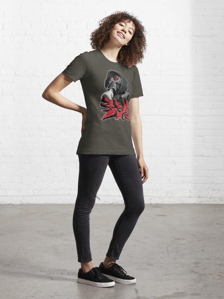 Alternate view of Graffiti propaganda style Essential T-Shirt
