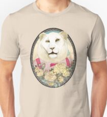 Lion and Roses Unisex T-Shirt