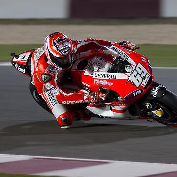 Nicky Hayden in Qatar 2011 by corsefoto