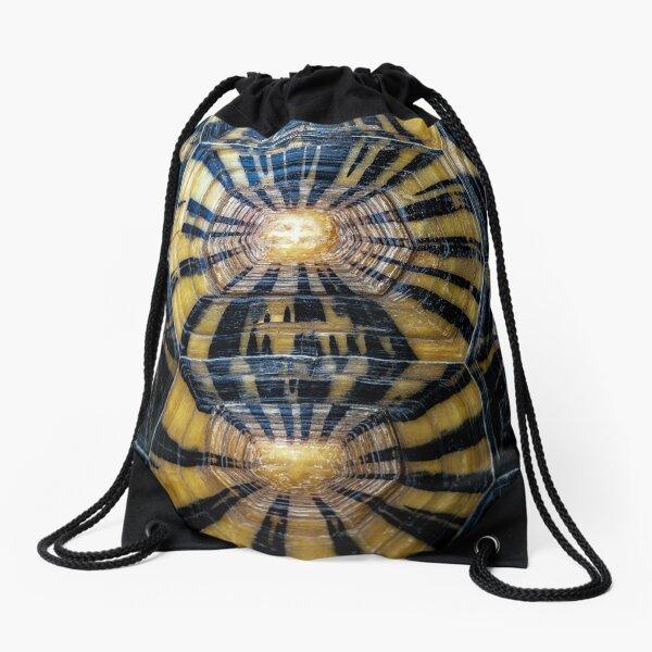 Sea shell Drawstring Bag