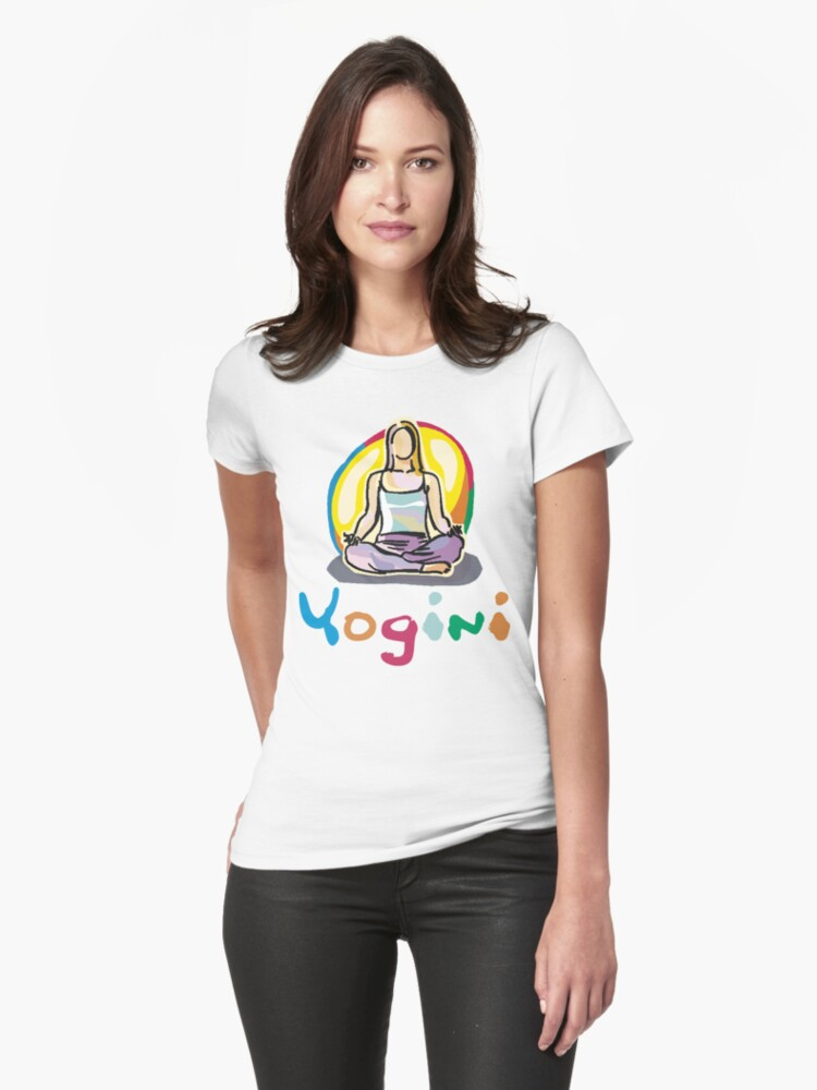 Yogini T-Shirt by T-ShirtsGifts