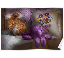 Child - Toy - Octopus in my closet  Poster