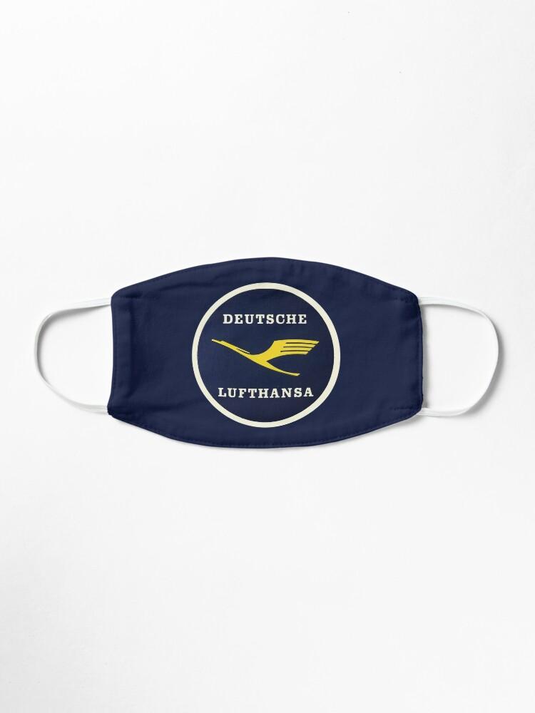 Alternate view of Lufthansa #1 Mask