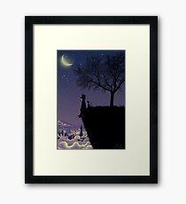 Captain Moonlight Framed Print