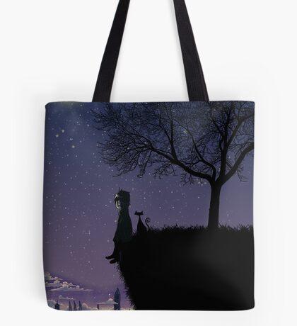 Captain Moonlight Tote Bag
