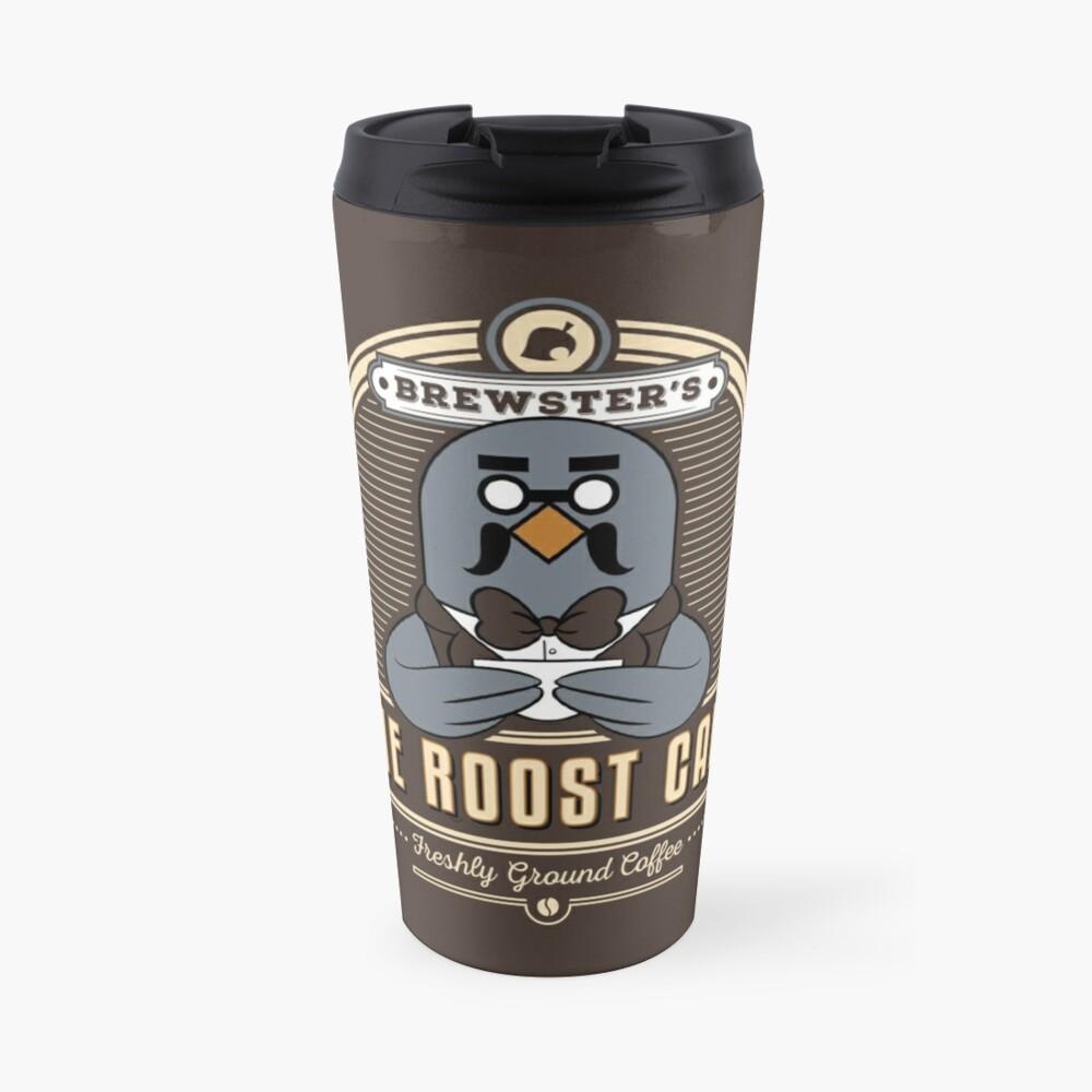 Brewster's The Roost Café Travel Mug