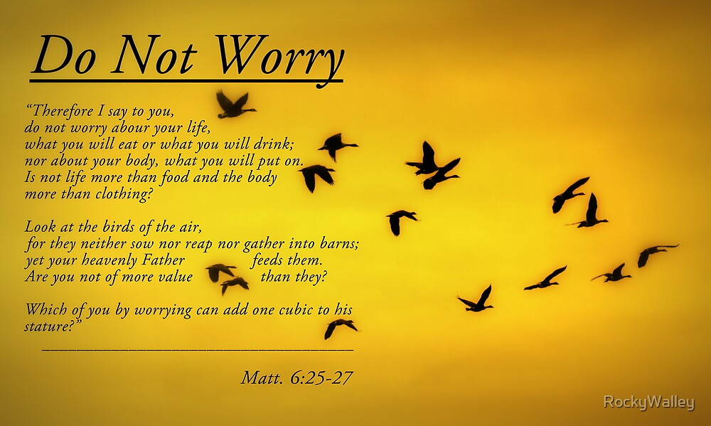 Do Not Worry by RockyWalley