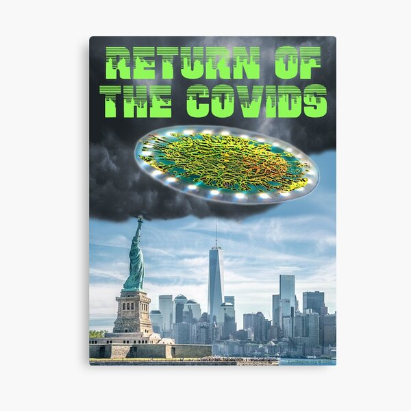 Return of the Covids Canvas Print