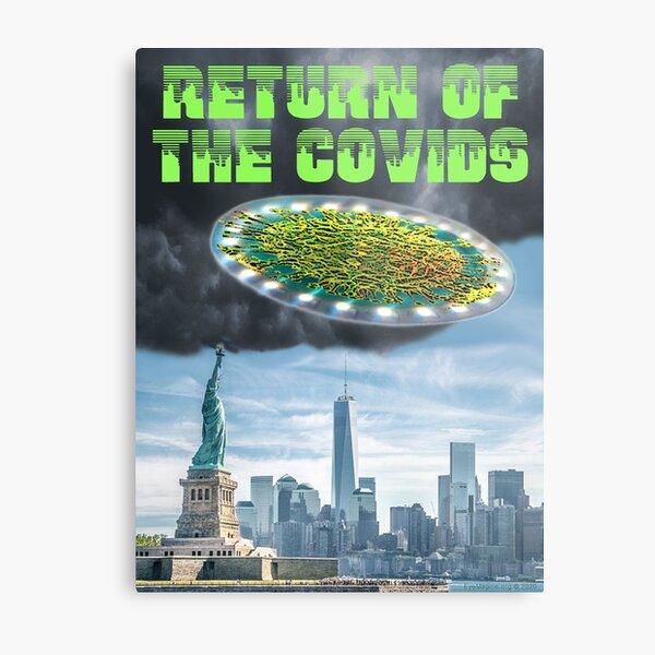 Return of the Covids Metal Print
