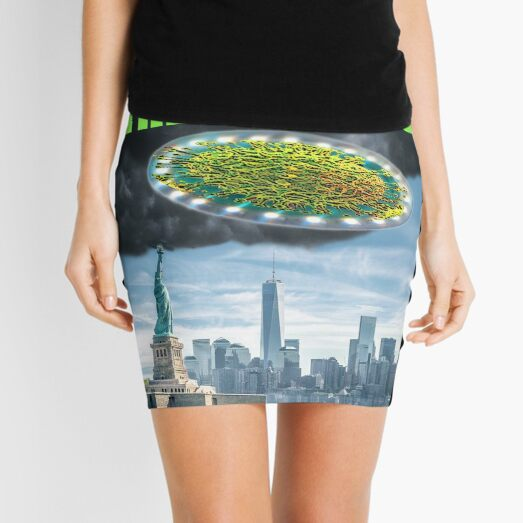 Return of the Covids Mini Skirt