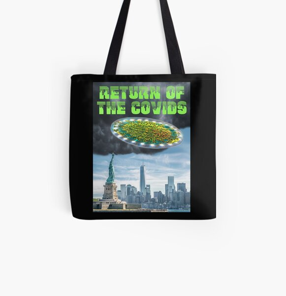 Return of the Covids All Over Print Tote Bag