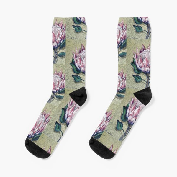 King Protea Socks