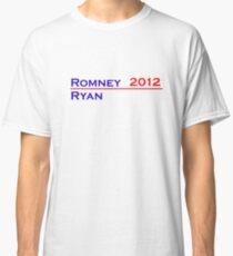 Romney-Ryan 2012 Shirt Classic T-Shirt