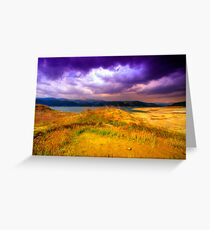 Painted Storm Greeting Card