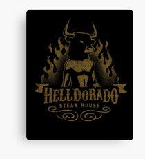 Helldorado Steak House Canvas Print