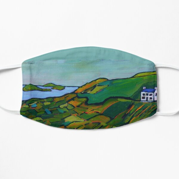 Ring of Kerry, Iveragh Peninsula (County Kerry, Ireland) Flat Mask