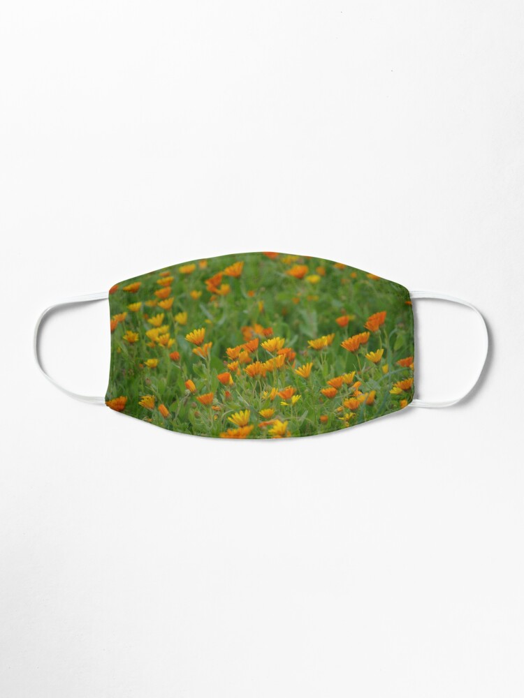 Alternate view of Moroccan Daisies Mask