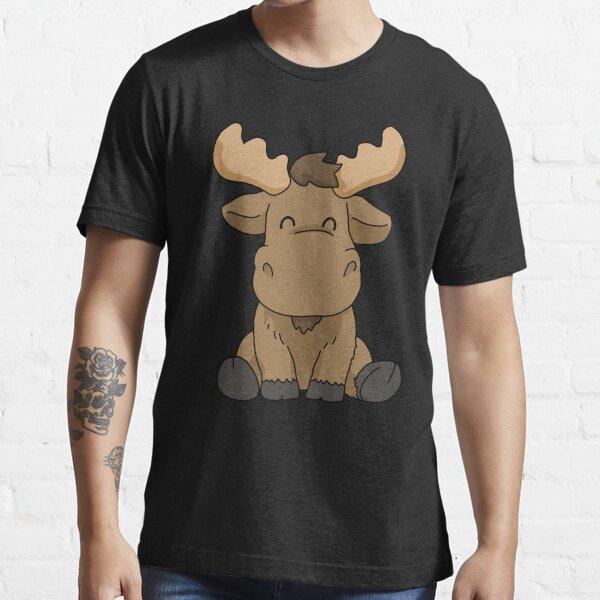 Baby Moose Shirt Women Moose Gift Men Moose Shirt Kids Moose Essential T-Shirt