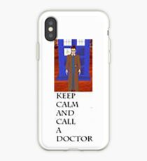 Keep Calm And Call The Doctor iPhone Case