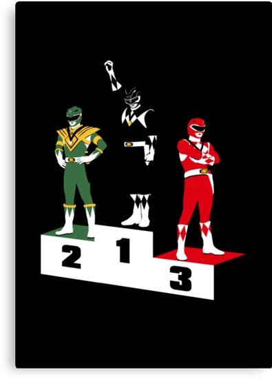 Black Ranger Power by Crocktees