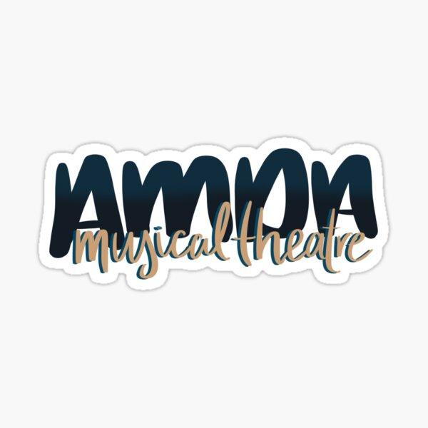 AMDA Musical Theatre Sticker