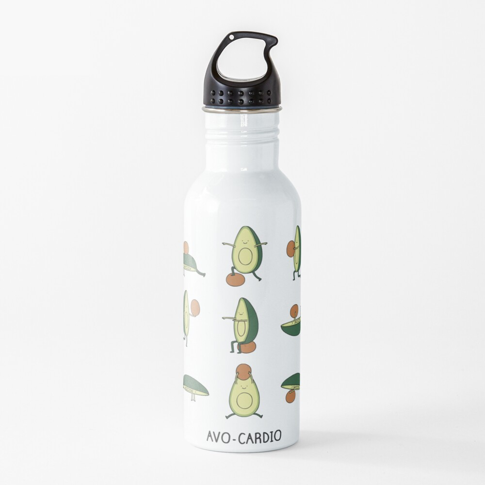 Avo-cardio Water Bottle