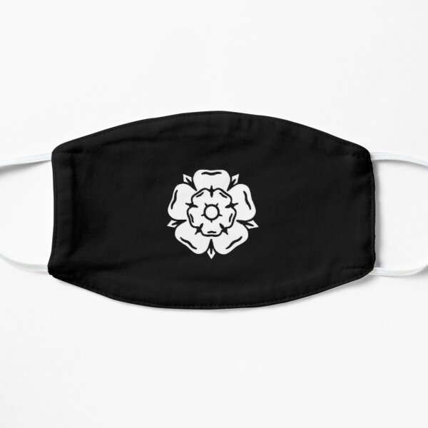 Minimalist Yorkshire Rose Mask