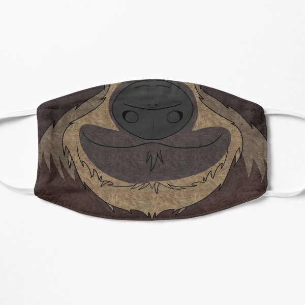 Sloth Facemask Flat Mask