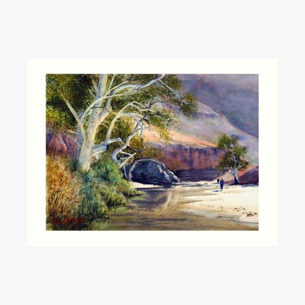 Ormiston Gorge Art Print
