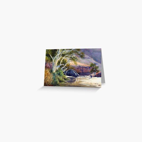 Ormiston Gorge Greeting Card