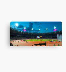 OLYMPIC STADIUM BY NIGHT Canvas Print