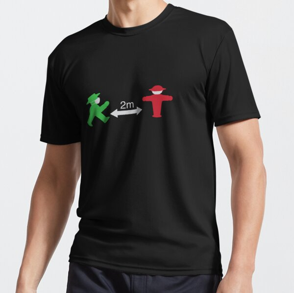 ampelmannchen with mask Active T-Shirt