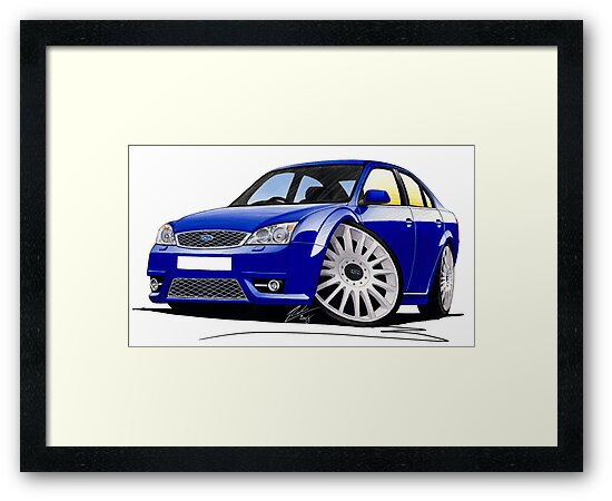 Ford Mondeo ST 220 Blue by yeomanscarart