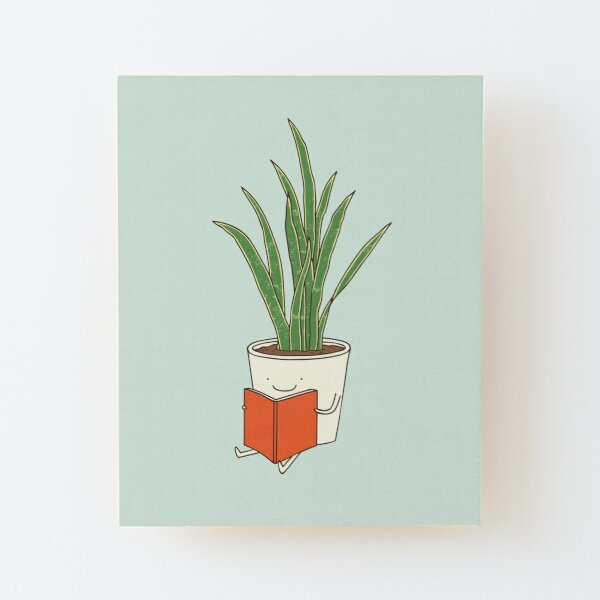 Indoor plant Wood Mounted Print
