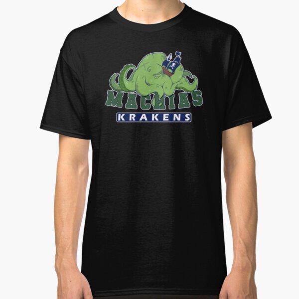 Machias Krakens BLACK Classic T-Shirt