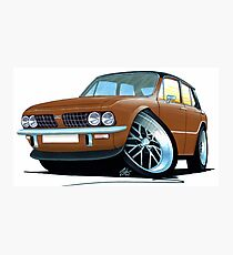 Triumph Dolomite Sprint Brown Photographic Print