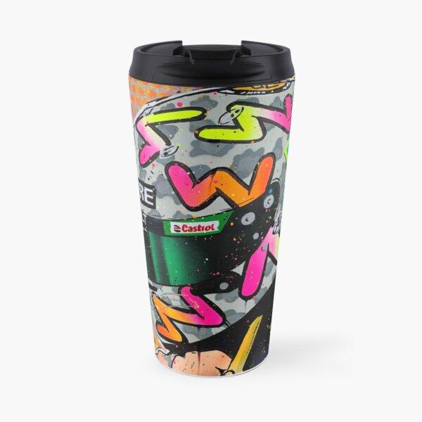 Daniel Ricciardo 2020 - Renault F1 graffiti painting by DRAutoArt Travel Mug