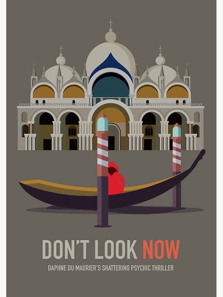 Don't Look Now - Alternative Movie Poster by MoviePosterBoy