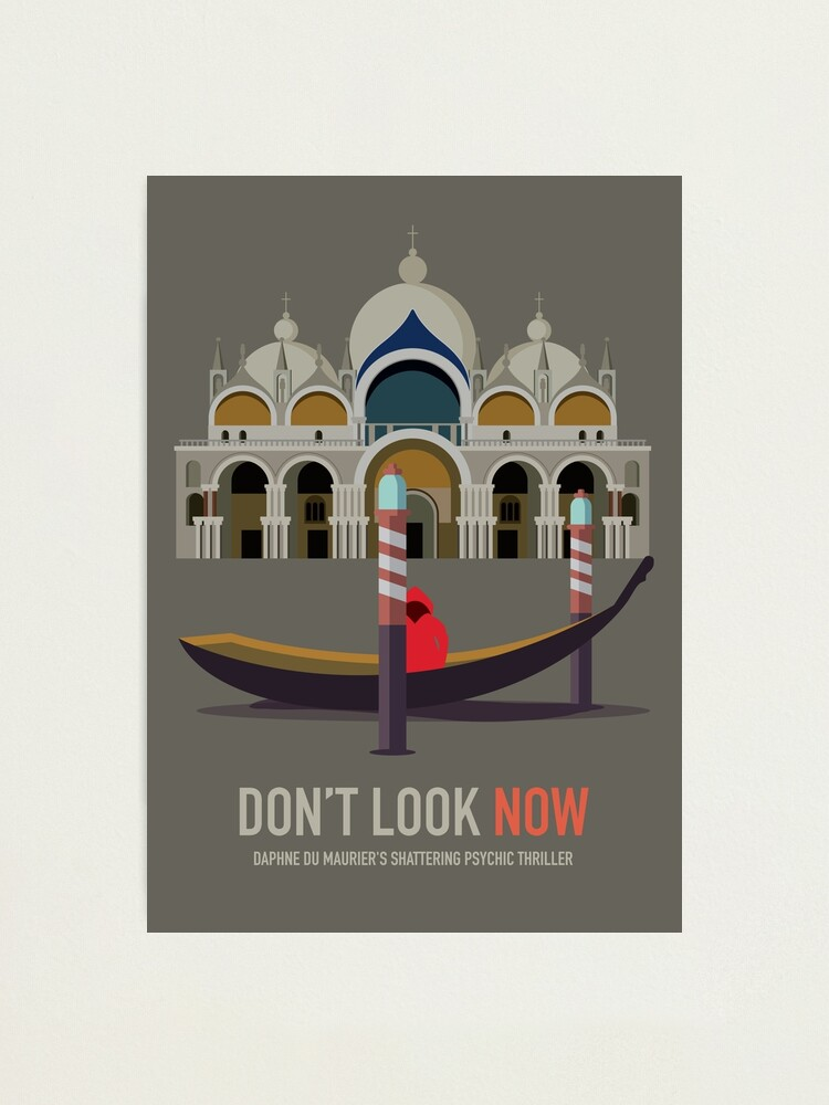 Alternate view of Don't Look Now - Alternative Movie Poster Photographic Print