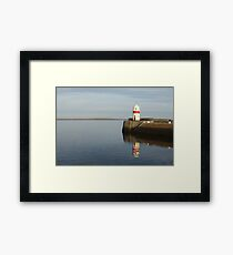Lighthouse Reflections Framed Print
