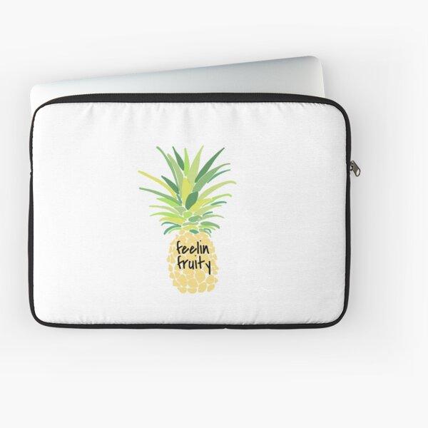 Feelin fruity pineapple Laptop Sleeve