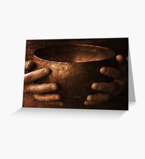 Healing Hands Greeting Card
