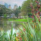 Victoria Park to the City by Michael Matthews
