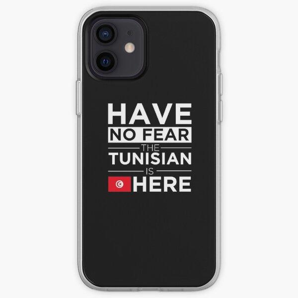 N'ayez pas peur Le Tunisien est ici Fierté Tunisie Coque souple iPhone